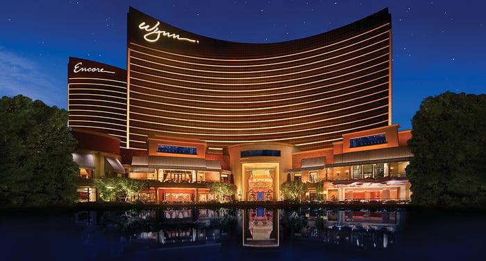 Wynn hotel and casino in Las Vegas
