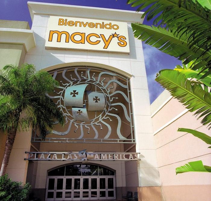 Macy's department store.