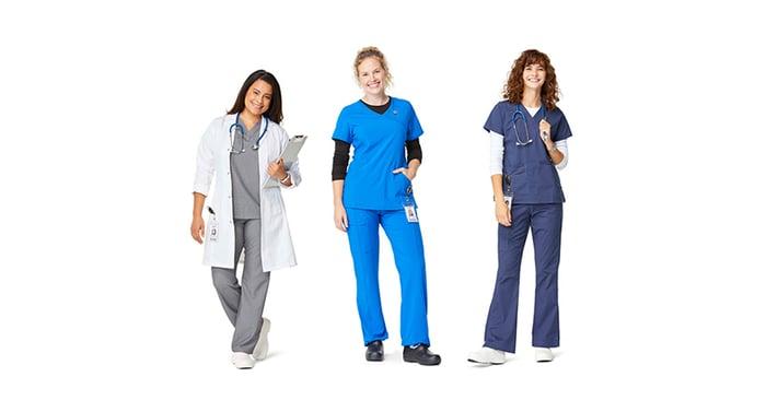 Women healthcare workers