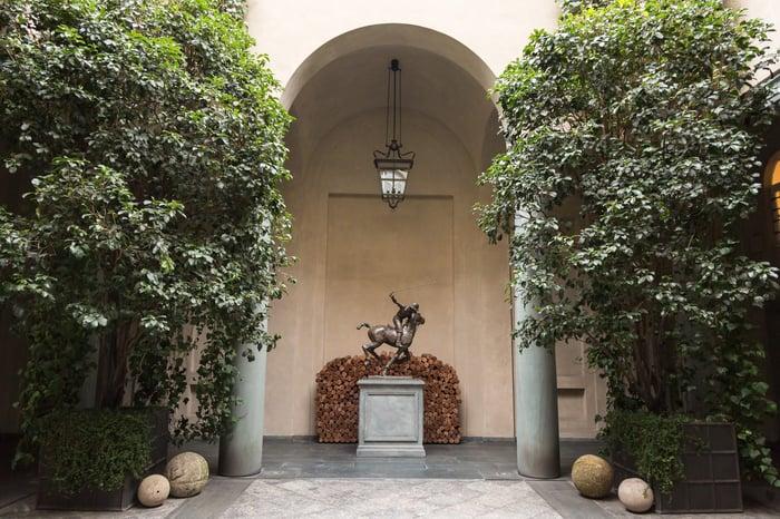 Ralph Lauren Palazzo in Milan.