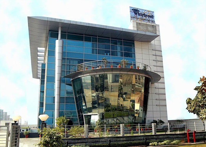 The Whirlpool headquarters in India, which is currently closed.