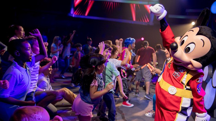Disney Junior Dance Party with Mickey Mouse.