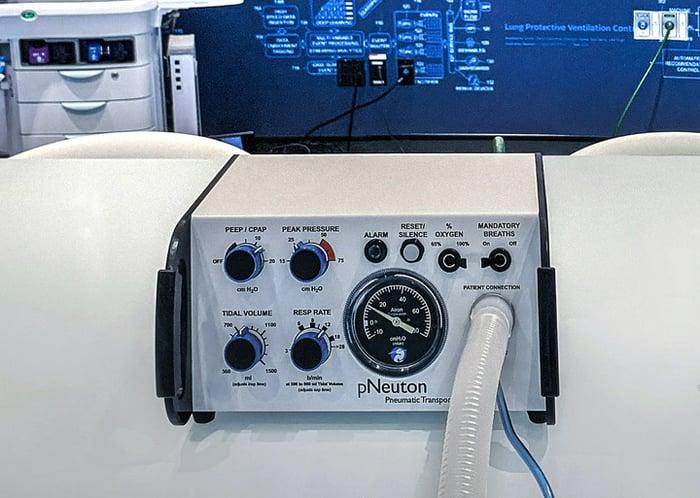 GE/Airon Model A-E Ventilator.