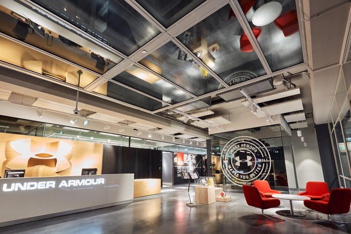 Under Armour office in Amsterdam.