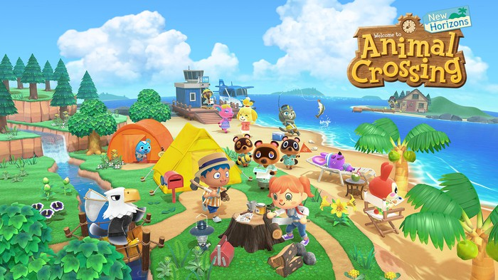 Game art from Animal Crossing: New Horizons
