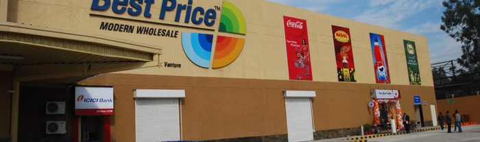 A Best Price store in India.