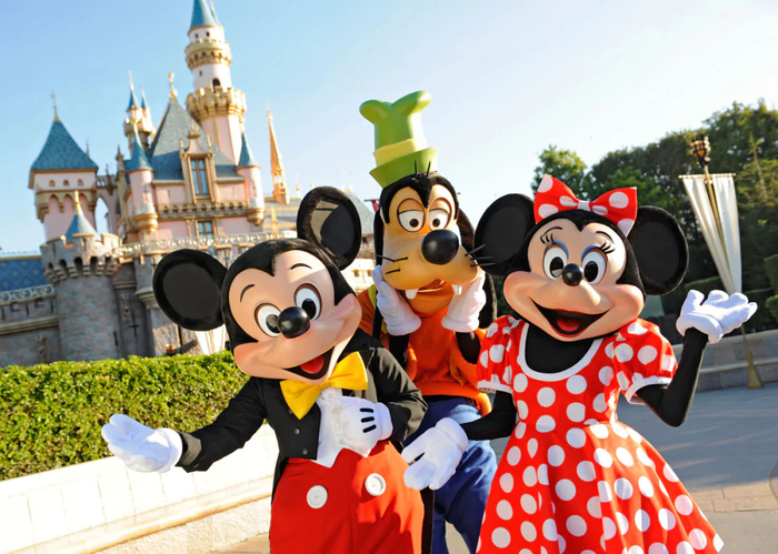 Disney characters.