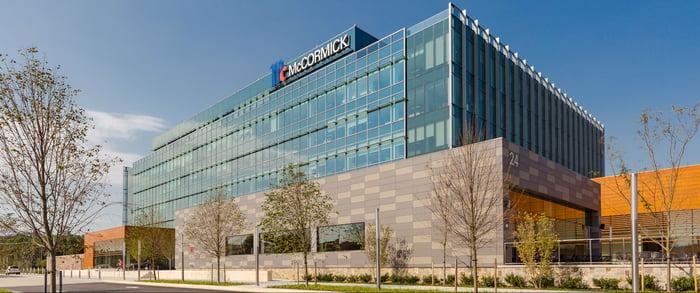 McCormick headquarters building.