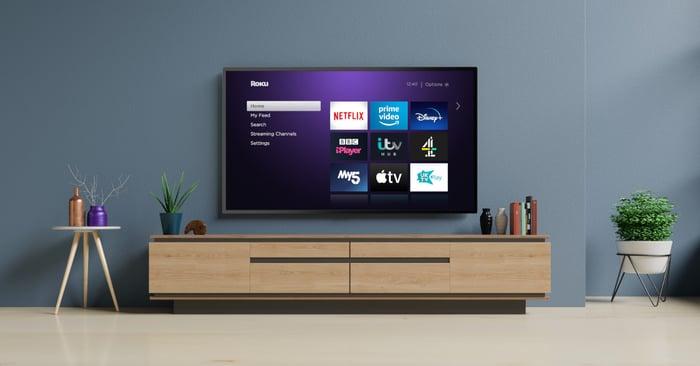 Roku TV set