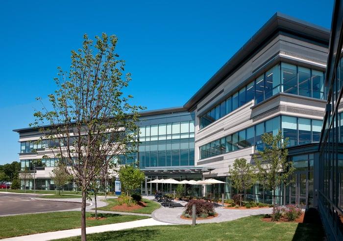 Boston Scientific headquarters.