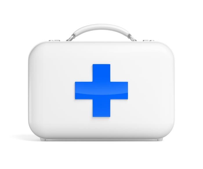 A medical case.