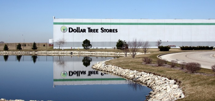 A Dollar Tree logistics center.