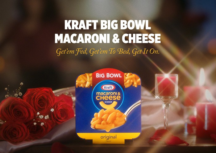 An ad for Kraft Big Bowl Macaroni & Cheese.