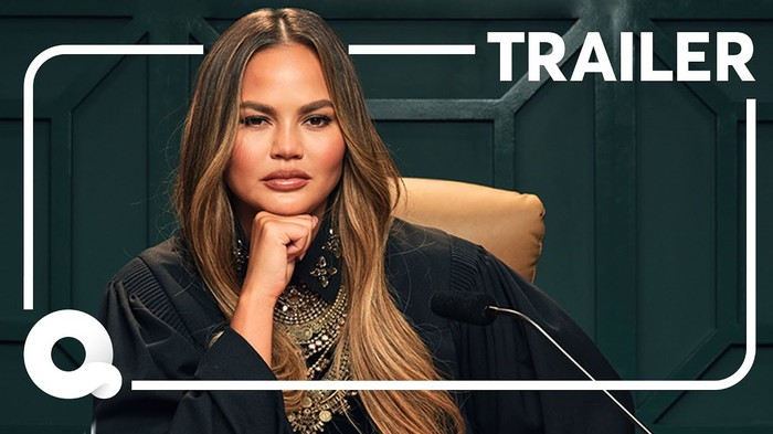 A Quibi ad for a reality show starring Chrissy Teigen