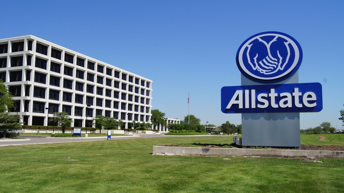 Allstate headquarters building.