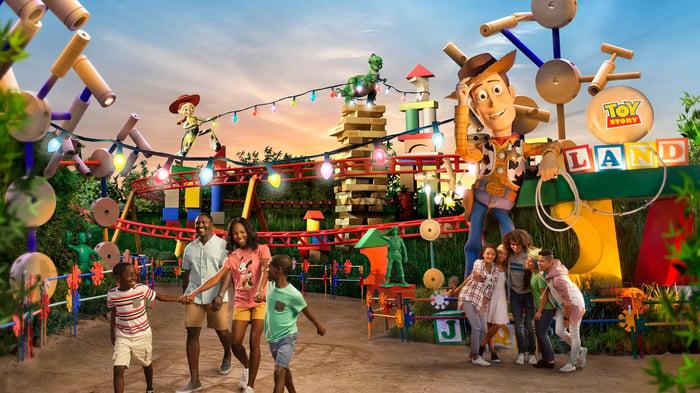 Walt Disney World's Toy Story Land