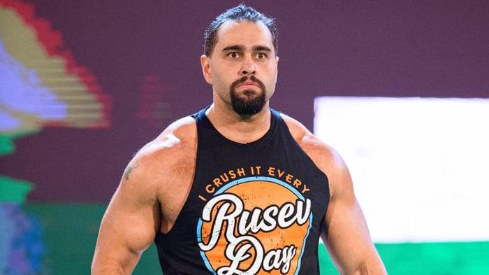 Former WWE wrestler Miroslav Barnyashev (Rusev).