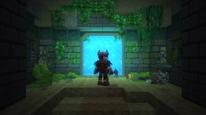 A character from Hypixel's game 'Hytale.'