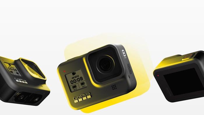 GoPro's Hero 8 Black.