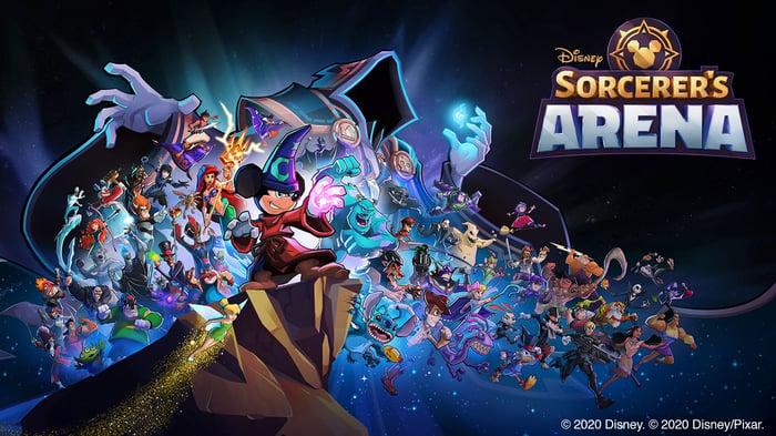 Disney Sorcerer's Arena.