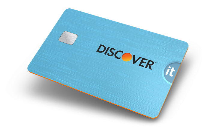 A Discover it card.