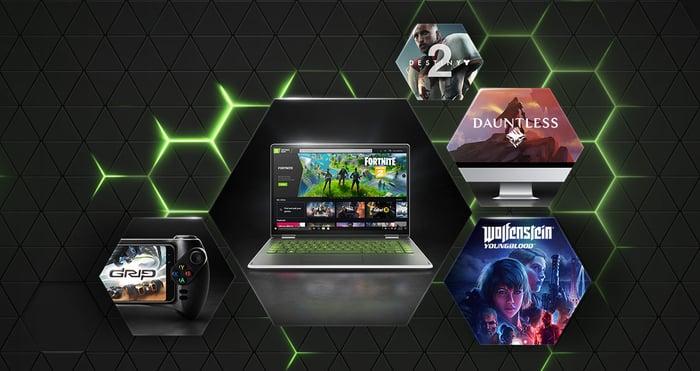 NVIDIA's GeForce Now.