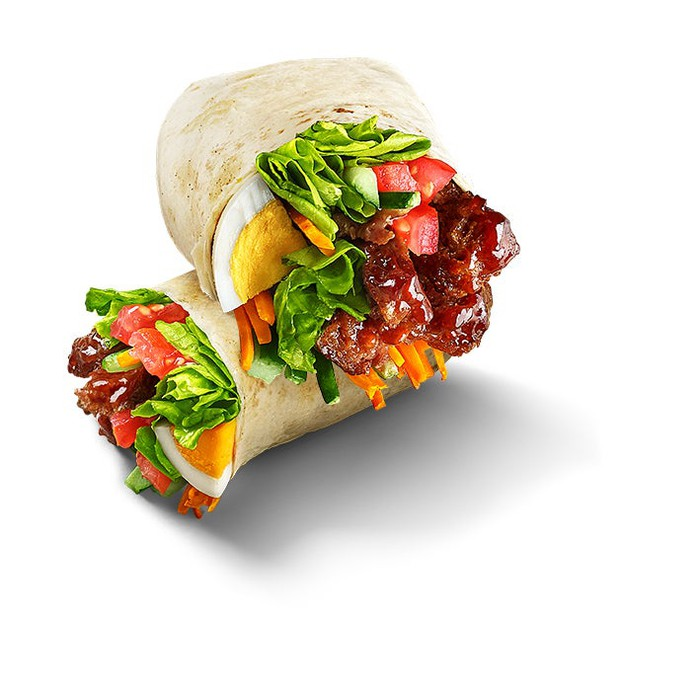 The Beyond Beef Spicy & Sour Wrap