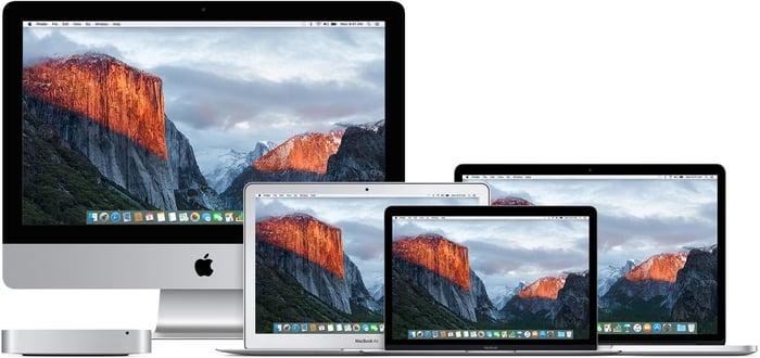 Apple Mac computers.