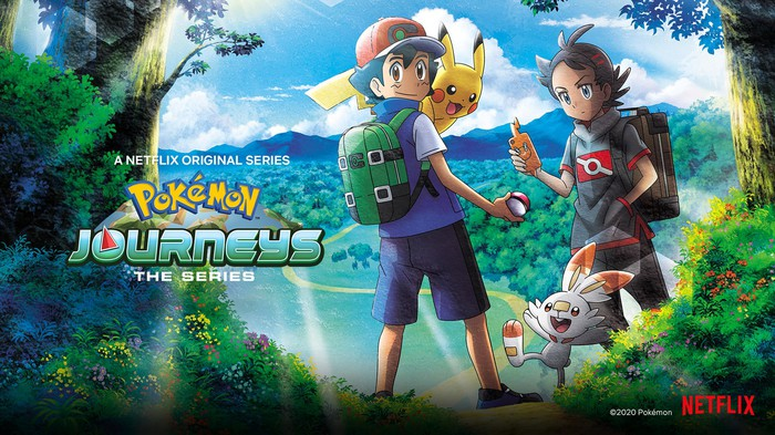 Pokemon Journeys promo from Netflix