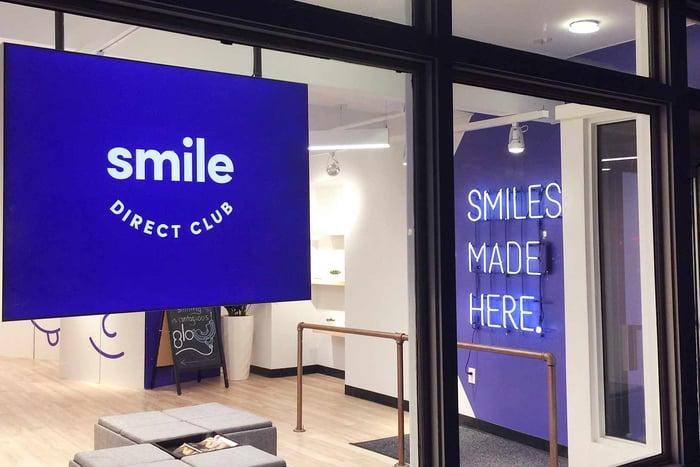 SmileDirectClub retail store