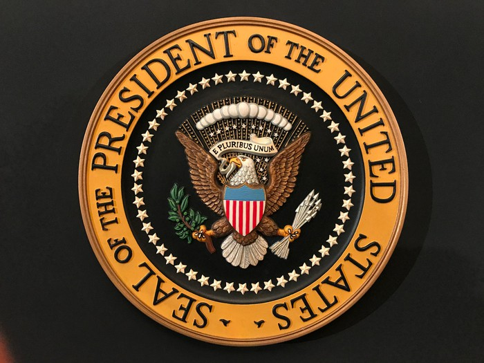 Presidential Seal of the United States..
