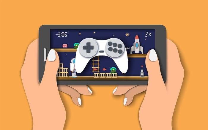 Mobile gaming image