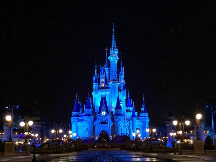 Disney Cinderella Castle.