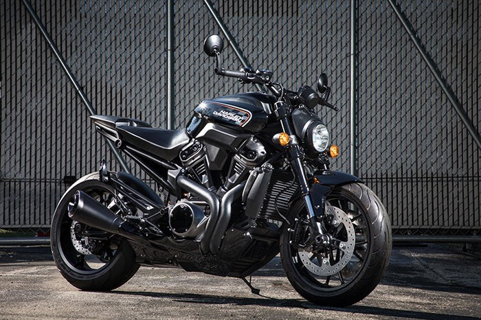 Harley-Davidson Bronx streetfighter motorcycle