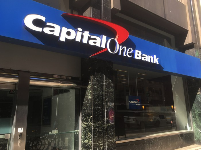 Capital One bank building