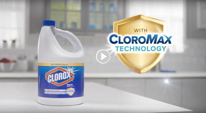 Clorox bleach banner ad