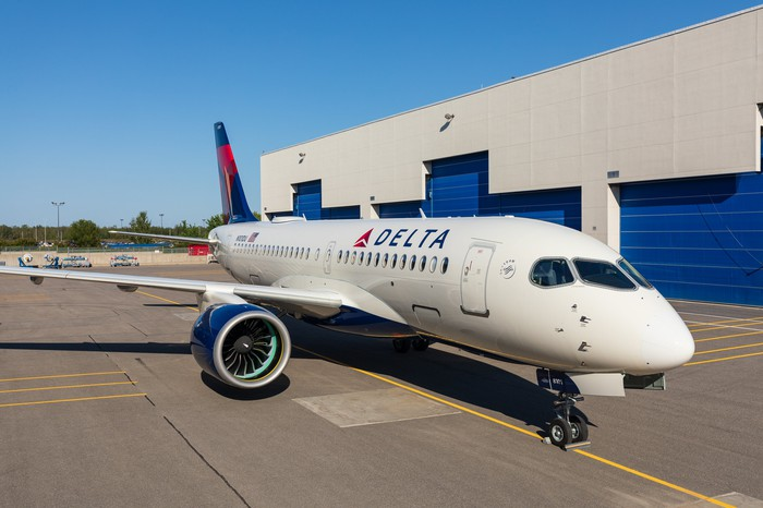 Delta's first Airbus A220-100