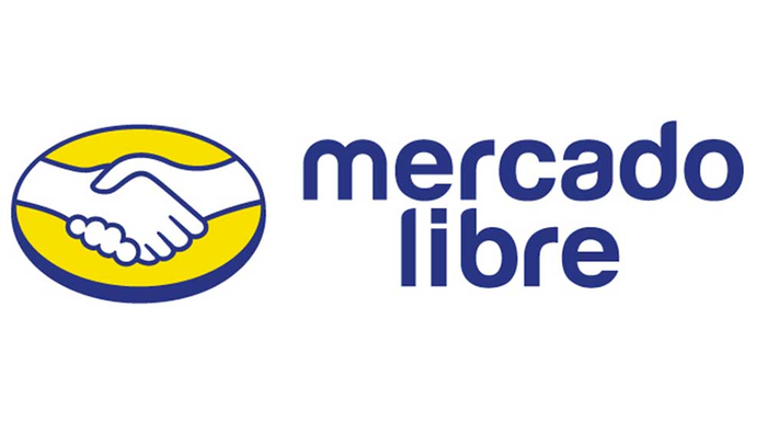 The MercadoLibre logo against the white background