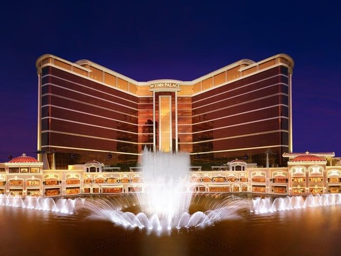 Wynn Palace casino in Cotai