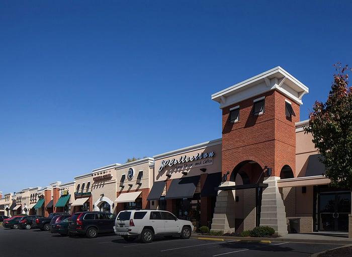 A Kimco shopping center.
