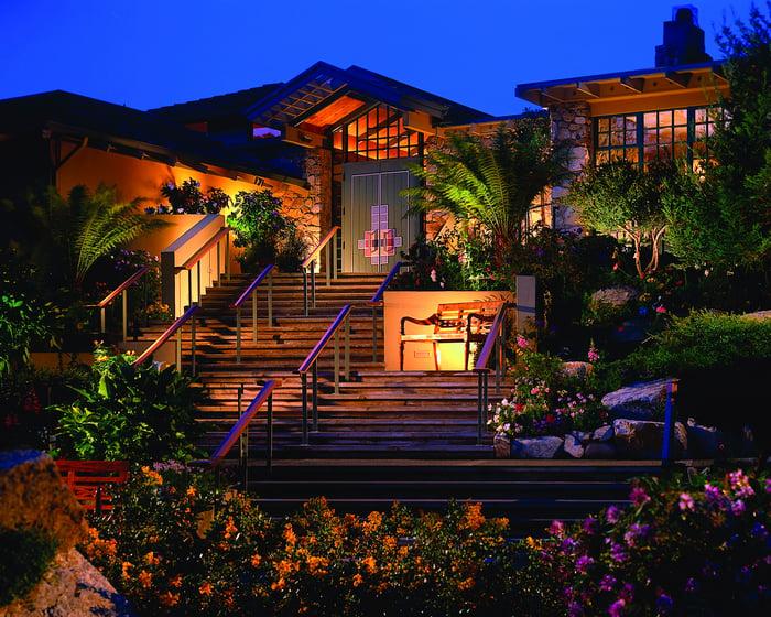 The Hyatt Carmel Hightlands at Big Sur.
