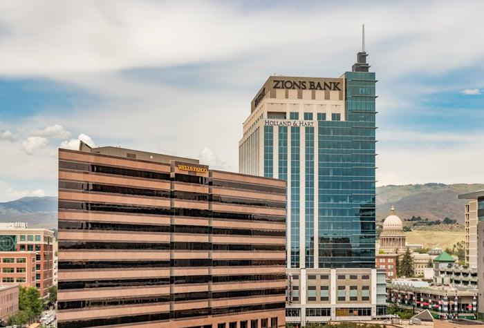 Zions Bank building.