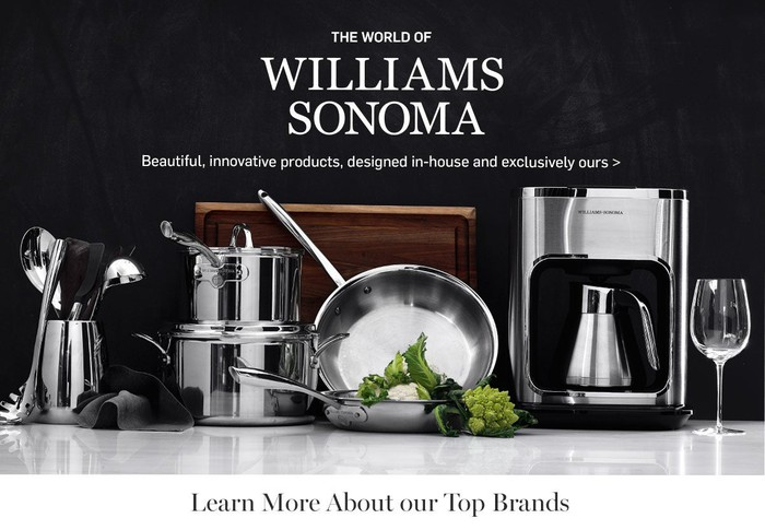 Williams-Sonoma pots and pans