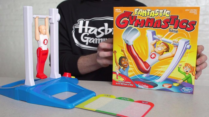 Hasbro Fantastic Gymnastics game.