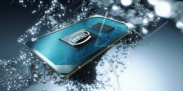 "An Intel mobile ""Tiger Lake"" processor"