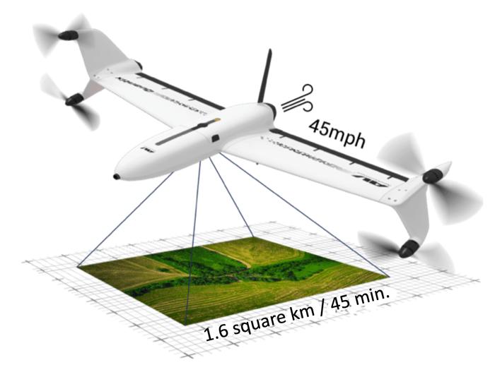 Quantix Recon drone sales brochure image