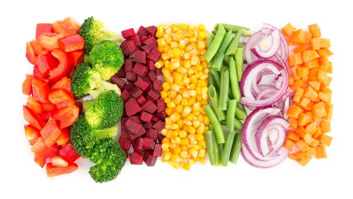 Fresh cut produce.