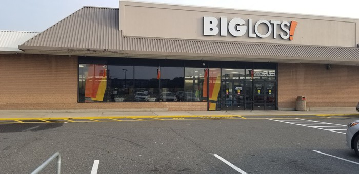 Big Lots store in Long Island, New York.