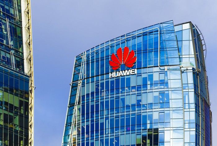 Huawei's offices.
