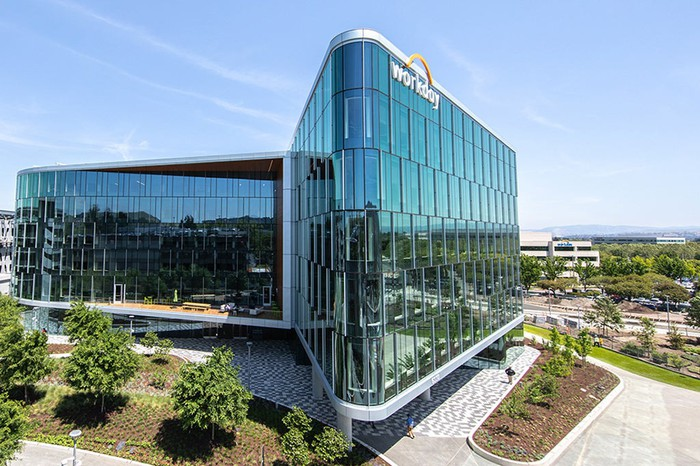 Exterior shot of Workday headquarters